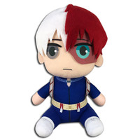 My Hero Academia: Shoto Todoroki Hero Suit Costume Sitting Plush
