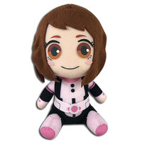 My Hero Academia: Ochaco Uraraka Hero Suit Costume Sitting Plush