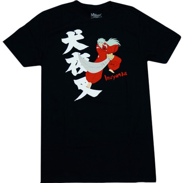 InuYasha: InuYasha Slashing Tetsusaiga Sword Men's T-Shirt