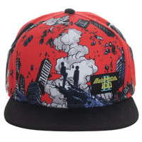Mob Psycho 100 All Over Print Sublimated Snapback Cap Hat