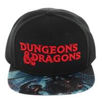 Dungeons & Dragons Logo Snapback Cap Hat