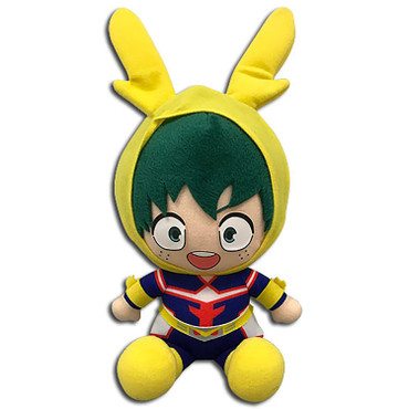 My Hero Academia: Izuku Midoriya Deku Child All Might Cosplay Suit Sitting Plush