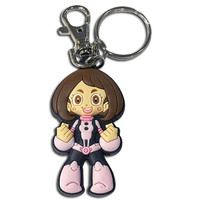 My Hero Academia: SD Ochaco Uraraka Uravity Hero Suit PVC Keychain