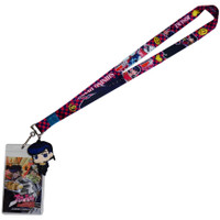 Jojo's Bizarre Adventure: Josuke & Shining Diamond Lanyard ID Holder & Charm