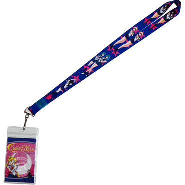 Sailor Moon: Outer Senshi Guardians Lanyard with ID Badge Holder