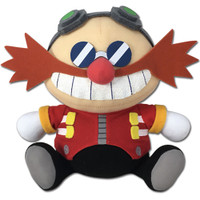 Sonic the Hedgehog: SD Dr. Eggman Sitting Plush