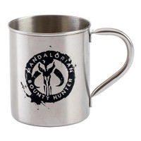 Star Wars The Mandalorian 12 oz Metal Mug