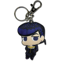 Jojo's Bizarre Adventure S3 Diamond Is Unbreakable SD Josuke PVC Keychain