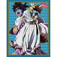 Jojo's Bizarre Adventure S3 Jotaro & Star Platinum Sublimation Throw Blanket