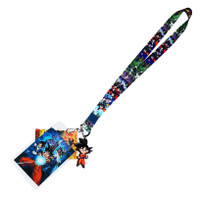 Dragon Ball Super: Battle of Gods Group Lanyard w/ ID Badge Holder & Goku Charm