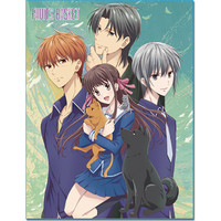 Fruits Basket Group Key Art Sublimation Throw Blanket