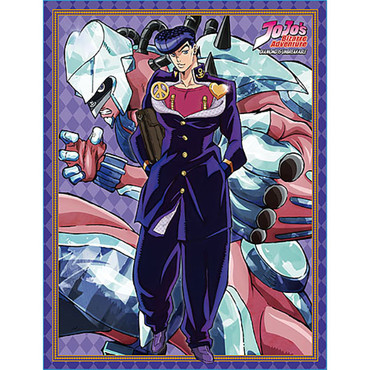 Jojo's Bizarre Adventure S3 Josuke & Shining Diamond Sublimation Throw Blanket