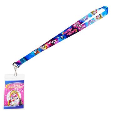 Sailor Moon Super S: Sailor Guardians & Pegasus Group Lanyard with ID Badge Holder