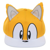 Sonic the Hedgehog: Tails Big Face Snapback Cap Hat