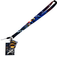 DC Comics Batman Lanyard with ID Badge Holder & Cell Phone Strap