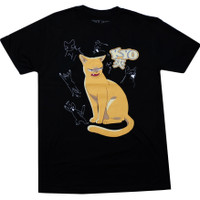 Fruits Basket: Kyo Cat Men's Black T-Shirt