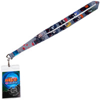 Naruto Shippuden: SD Akatsuki Members Lanyard with ID Badge Holder