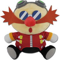 Sonic the Hedgehog: SD Dr. Eggman Sleep Sitting Plush