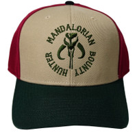 Star Wars Mandalorian Mythosaur Bounty Hunter Pre-Curved Snapback Cap Hat