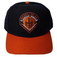 Star Wars Mandalorian Legendary Warrior Bounty Hunter Pre-Curved Snapback Cap Hat