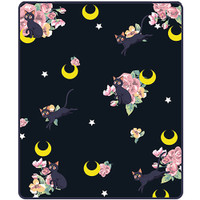 Sailor Moon: Luna Guardian Cat Sublimation Throw Blanket