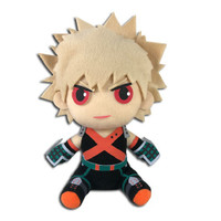 My Hero Academia S2 Bakugo Hero Costume Sitting Plush