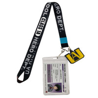 My Hero Academia UA High School Class 1A Hero Dept. Lanyard with ID Badge Holder & Charm