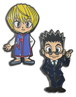 Hunter x Hunter: Kurapika & Leorio Enamel Pins Set of 2