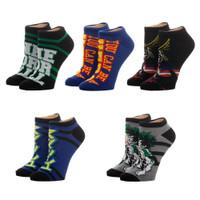My Hero Academia 5 Pack Juniors Ankle Socks