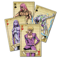 Jojo's Bizarre Adventure S4 Group Playing Cards