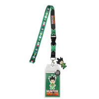 Hunter x Hunter Chibi Group Lanyard with ID Badge Holder & Gon Charm