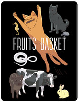 Fruits Basket Anime Animals Throw Blanket