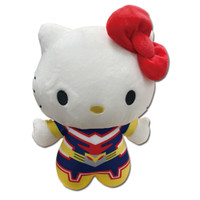 My Hero Academia X Hello Kitty and Friends: Hello Kitty X All Might Plush