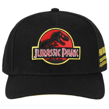 Jurassic Park Logo Park Ranger Dinosaur Expert Snapback Cap Hat