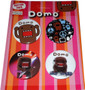 Domo Kun: Domo Mix Up Button Set of 4
