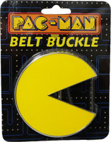 Pacman: Pacman Chrome Belt Buckle