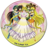 Sailor Moon: Serenity Group 3-Inch Button