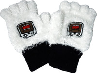 Domo Kun: Panda Domo Plush Fingerless Gloves