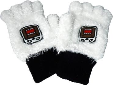 Domo Kun: Panda Domo Plush Fingerless Gloves