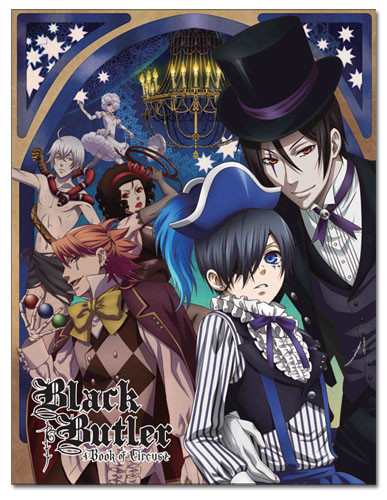 Black Butler Book Of Circus Ciel Amp Sebastian Sublimation