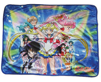 Sailor Moon S: Super Sailor Moon & Guardians Sublimation Throw Blanket