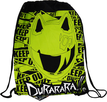 Durarara!! - Celty Keep Out Drawstring Bag