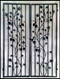 Iron Wine Cellar Door - Double Charlotte Grapevine - 60 inches wide
