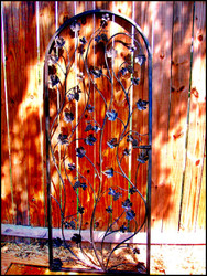 "Artistic Grapevine Wine Cellar Door or Gate 32"" X 80"""