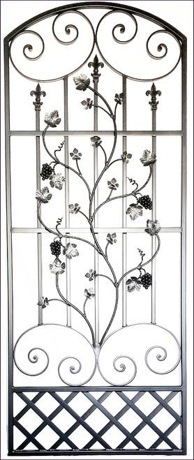 Charlotte Louviere Tall Iron Wine Cellar Door
