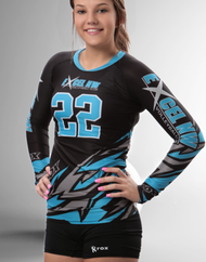 Rox Volleyball Roxamation Bolt Sublimated Jersey