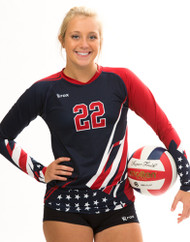 Rox Volleyball Roxamation Patriot Jersey