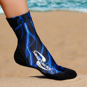 Vincere SAND SOCKS - Blue Lightning