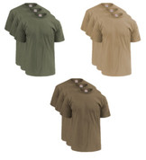 Soffe 3-Pack M280 Men's 50/50 Cotton Poly T-Shirts -