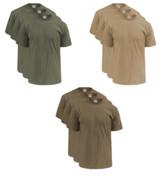 Soffe 3-Pack M280 Men's 50/50 Cotton Poly T-Shirts -